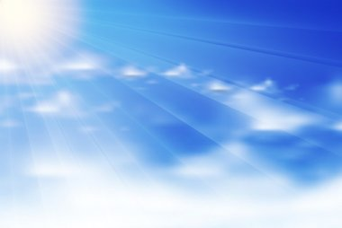 Clouds background, eps10