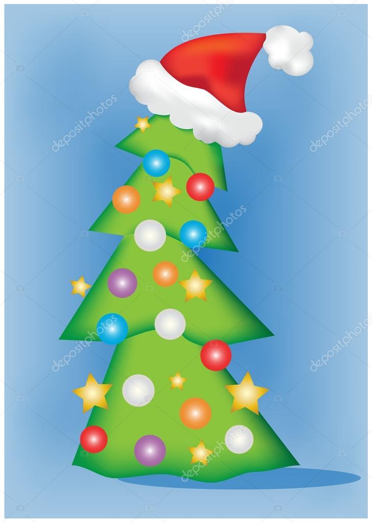 Peque o rbol de navidad vector de stock r brunazzi for Arbol de navidad pequeno