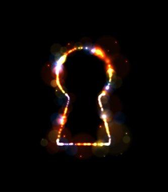 Magic keyhole.
