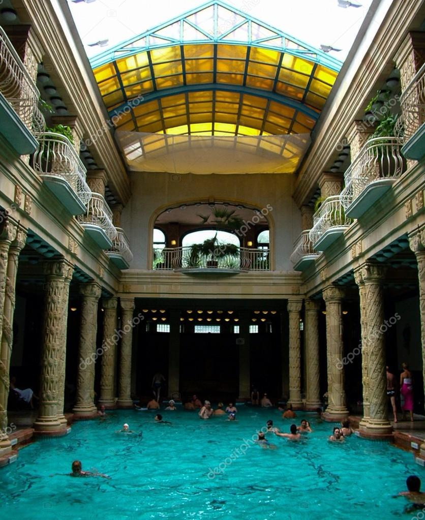 Banos Gellert.Hotel Gellert Gyogyszallo Piscina Banos Budapest Hungria