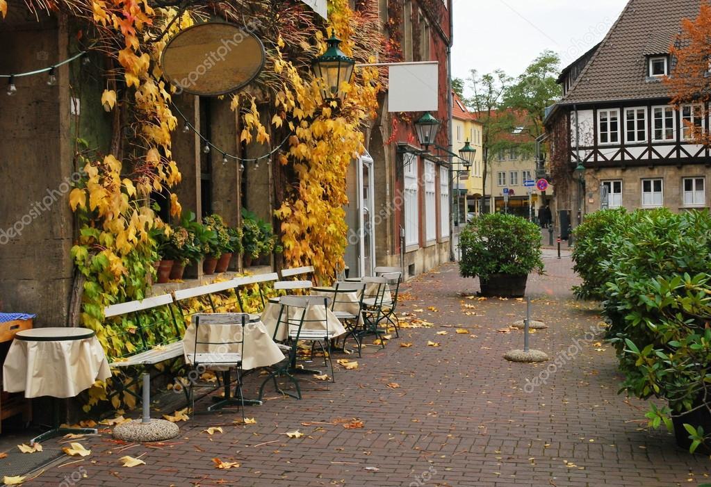 фото кафе уличные