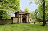 Fotografie Großloge Eingang, Heaton Park, Manchester. UK