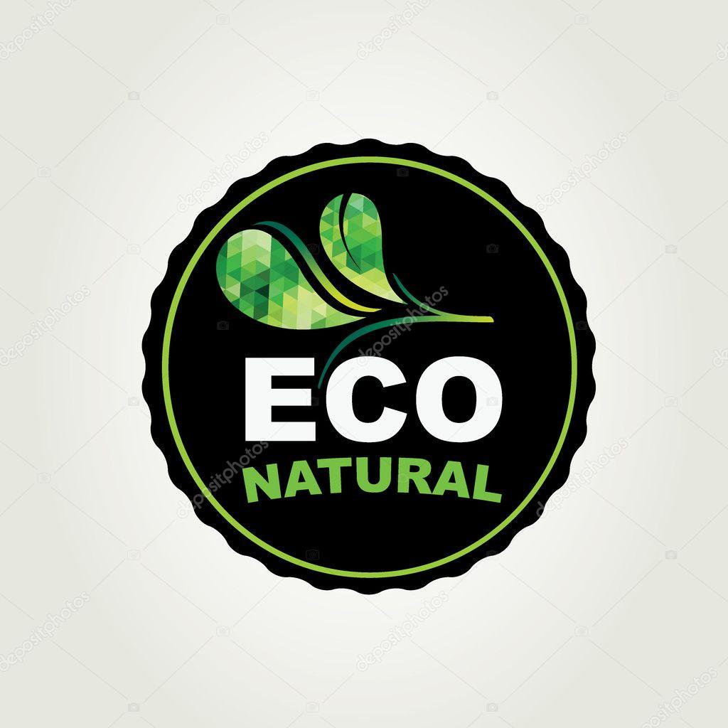 Icon design, organic and nature.