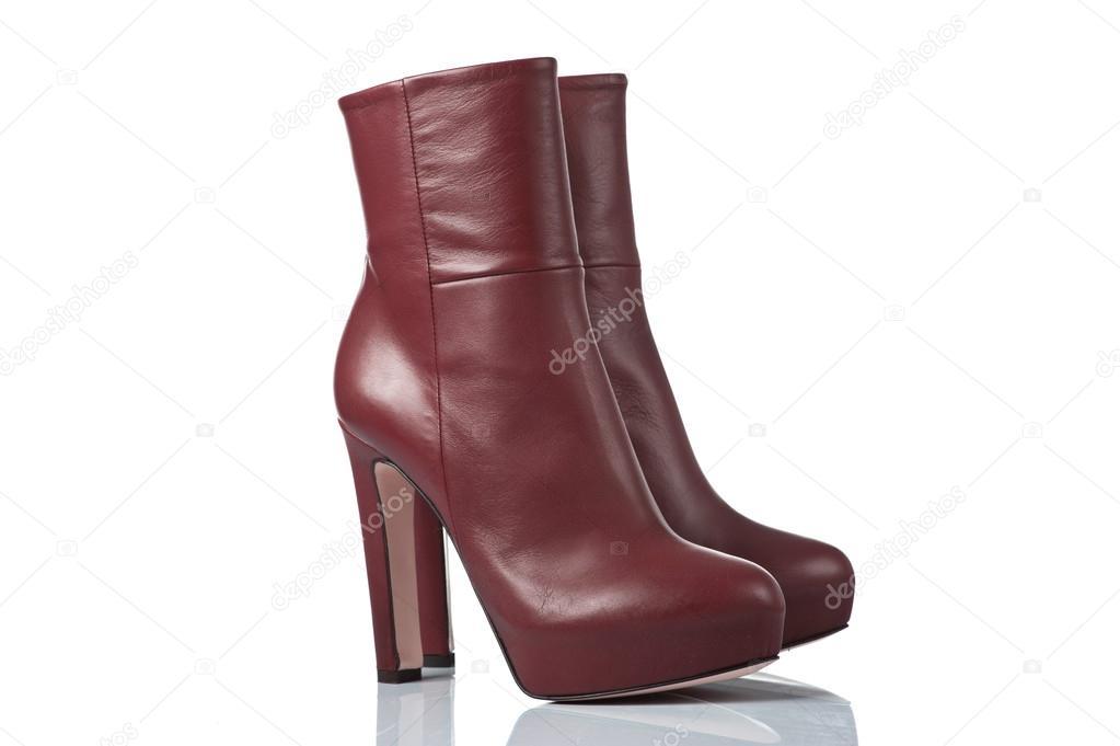 02db6dfbde pár női magassarkú csizma — Stock Fotó © karpenyuk #39224441
