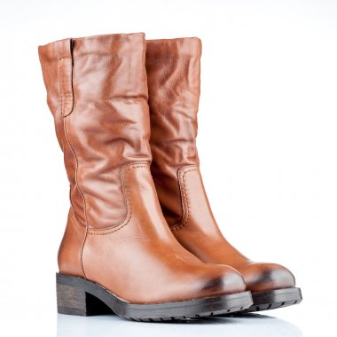 pair of female boots