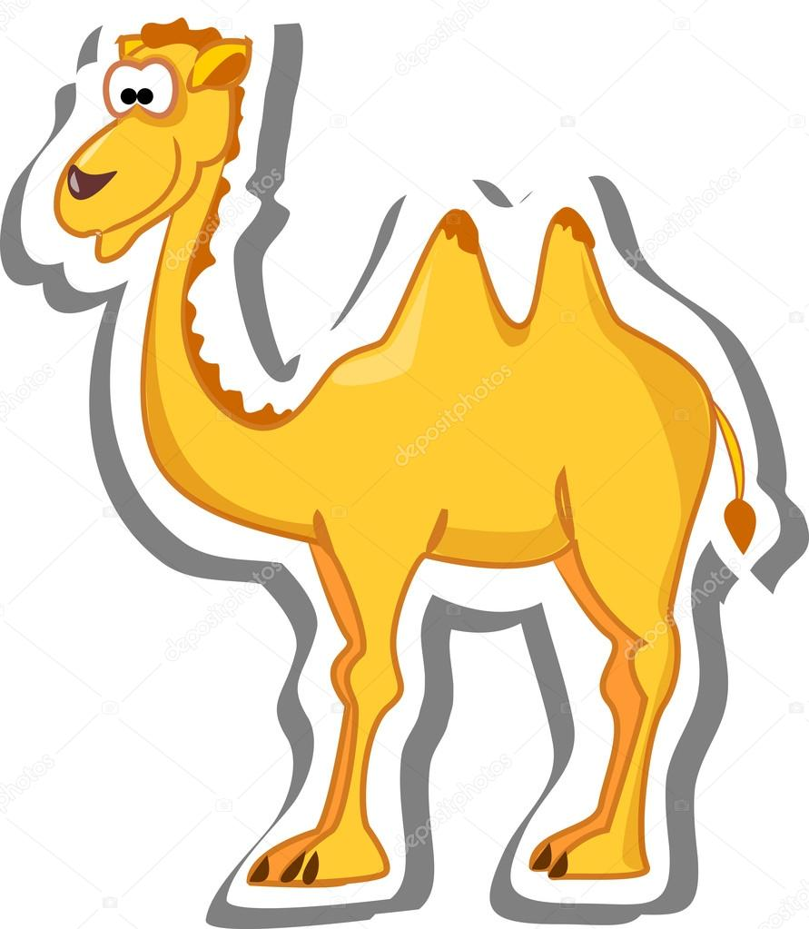 cute cartoon camel u2014 stock vector virinaflora 19469717