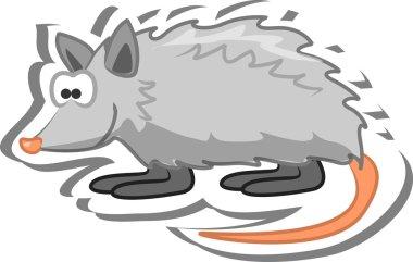 Cartoon opossum