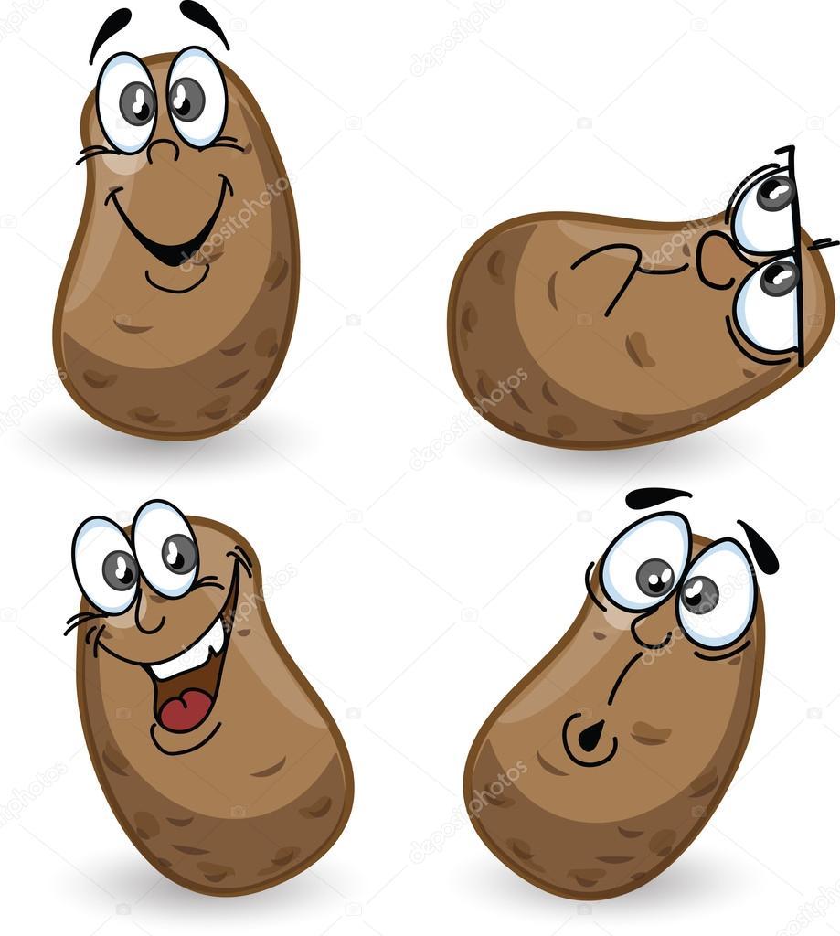 Výsledek obrázku pro brambory kreslené