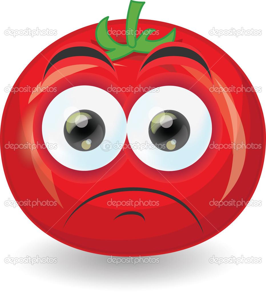 Dessin anim tomate image vectorielle virinaflora 28967755 - Dessin de tomate ...