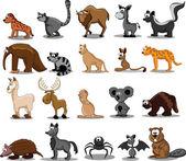 Photo Set of 20 cute cartoon animals