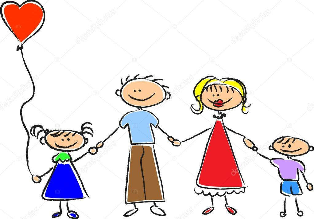 Resultado de imagem para familia sobre as mão de Deus