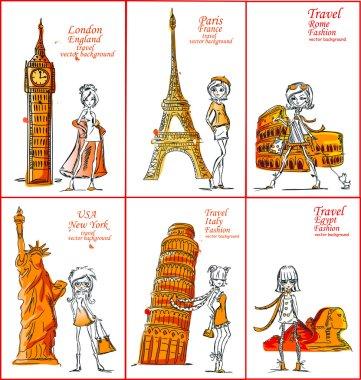 Fashion Girl travels the world