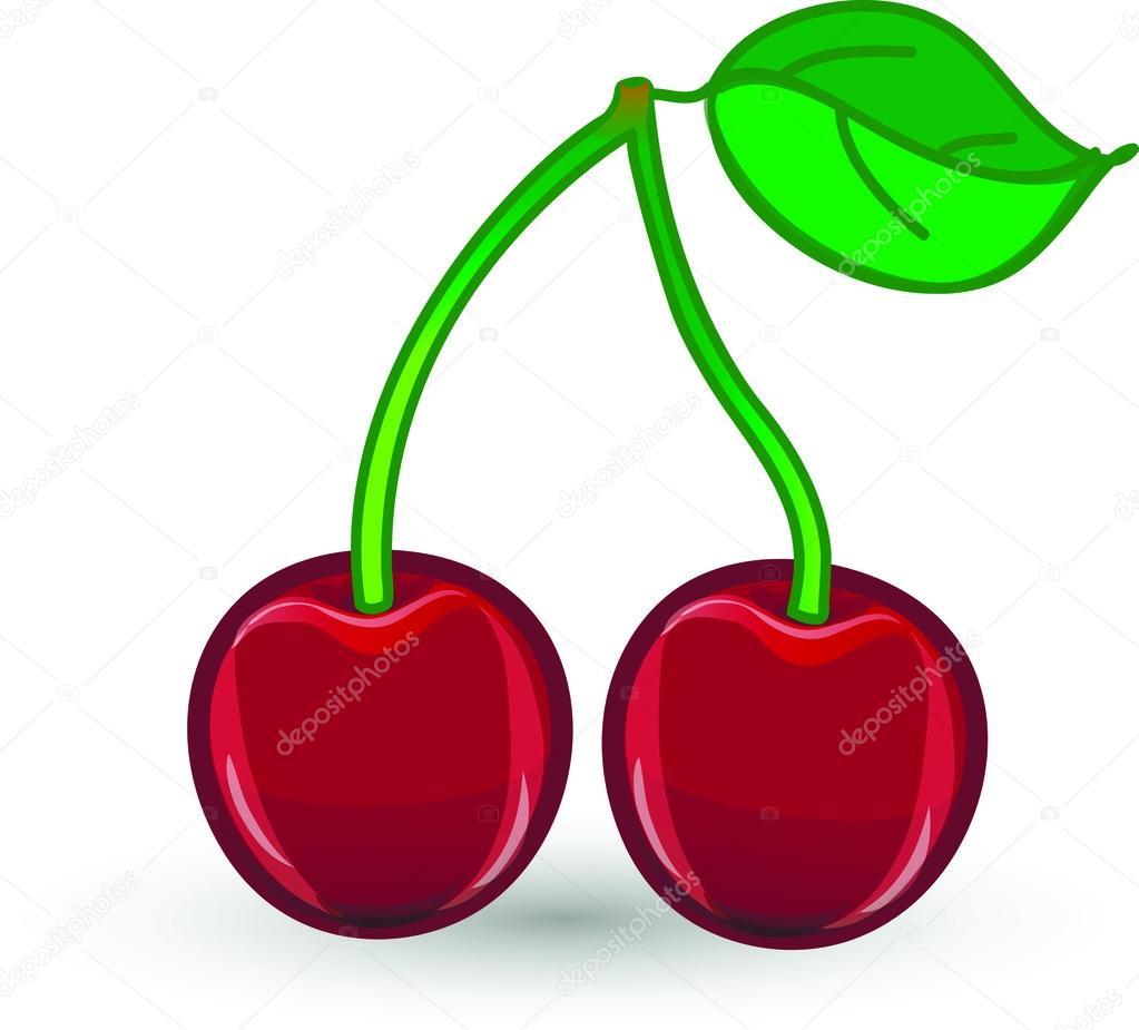 Dessin anim cerise image vectorielle virinaflora - Cerise dessin ...