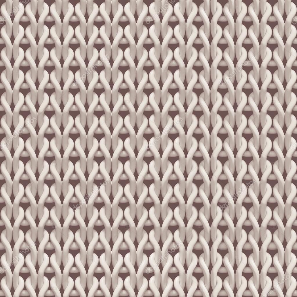 Seamless woolen knitting texture