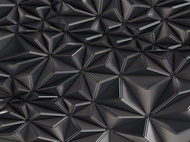 Black architectural background