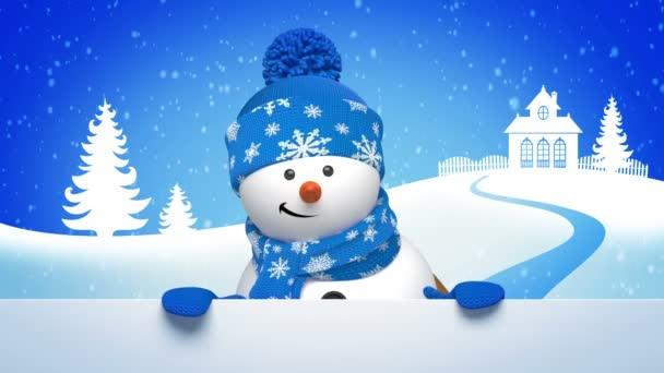 Karácsony-hóember megszólítás