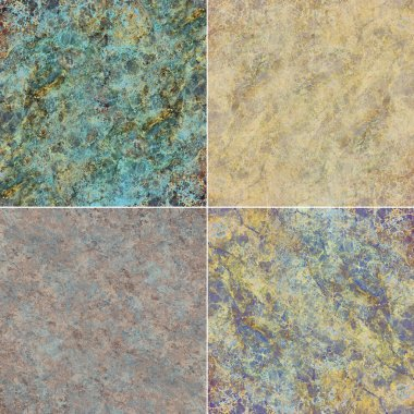 Natural and artificial stone textures