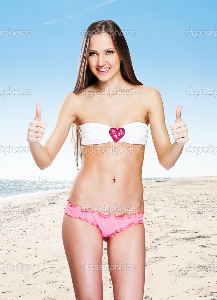 Bikini photo stock