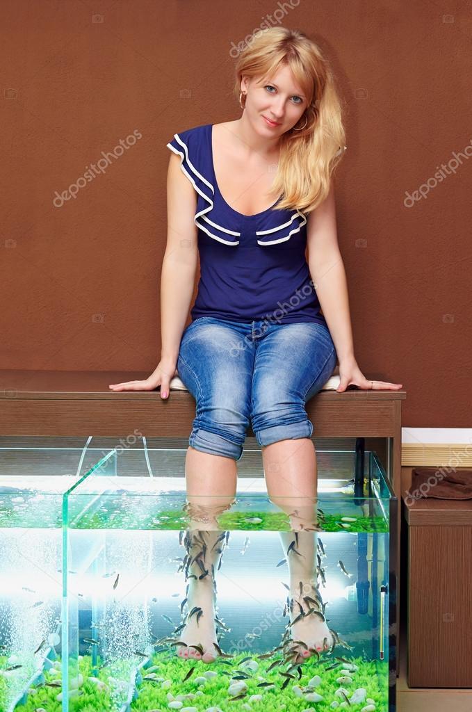 девушки модели в рыбное