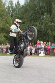 Motor show-ban a falu verkhovazhye, vologda region, Oroszország. Thomas Kalinyin