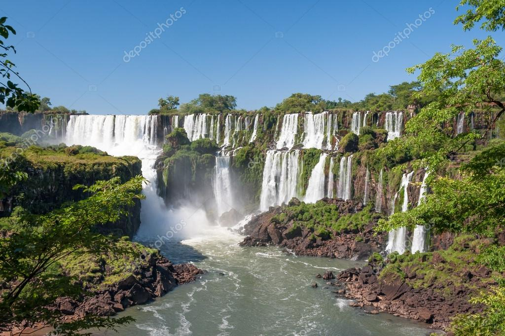 Iguazu fall panorama