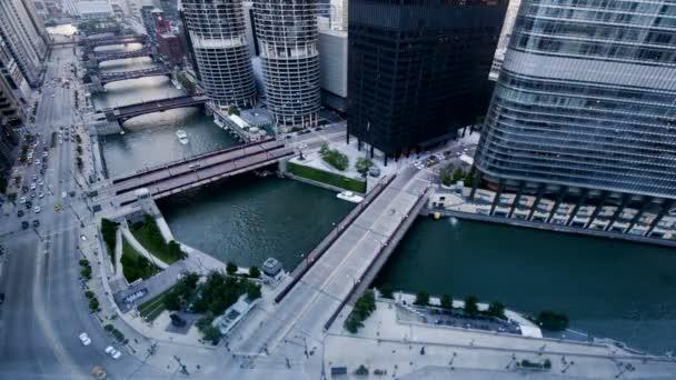 Centru města Chicago River