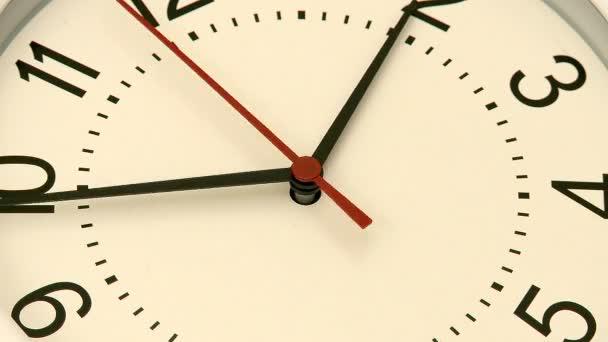 časová prodleva hodiny s reverzní z druhé ruky