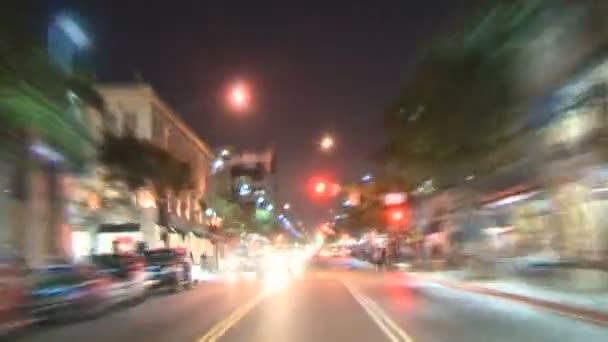 Los angeles - auto připojený fotoaparát - timelapse