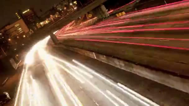 nakloněné provoz na rušné dálnici 101 - časová prodleva