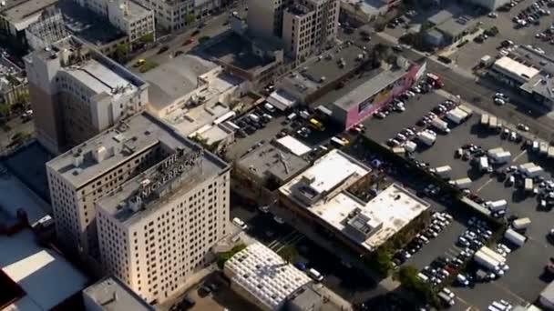 A légi felvétel a belvárosi Hollywood