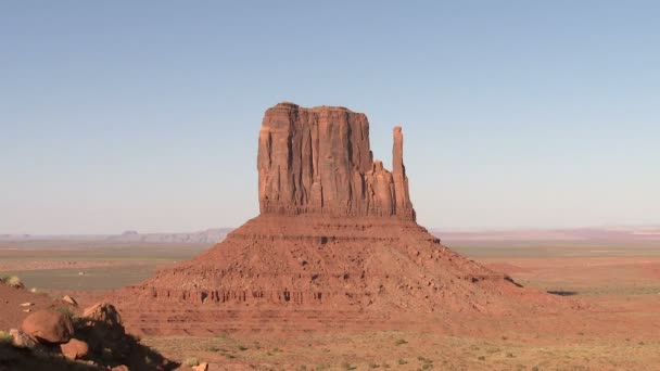 Monument valley mesa stíny časová prodleva