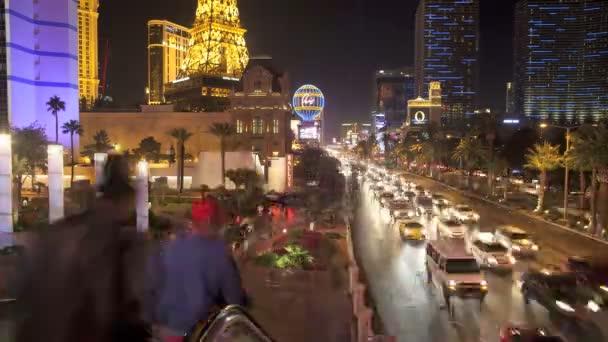 časová prodleva kasinech las vegas strip v noci