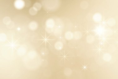 Golden sparkles christmas background