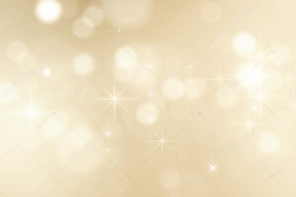 Golden sparkles christmas background