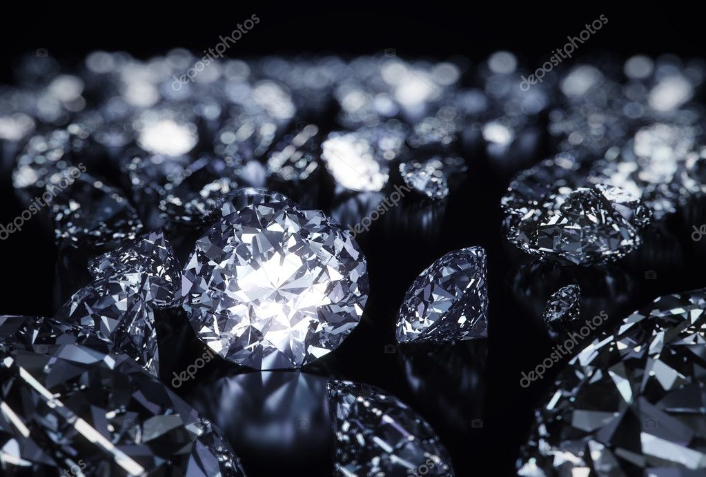 Perfect shape diamonds