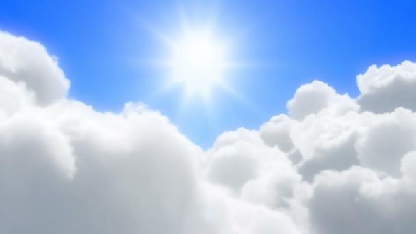 let přes mraky - loopable animace