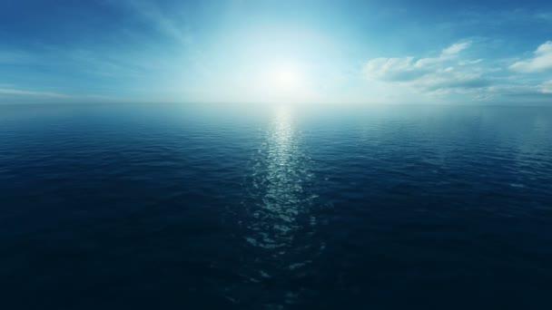 Repülés alatt az óceán 3d animáció