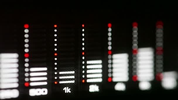 Audio Színkép elemző
