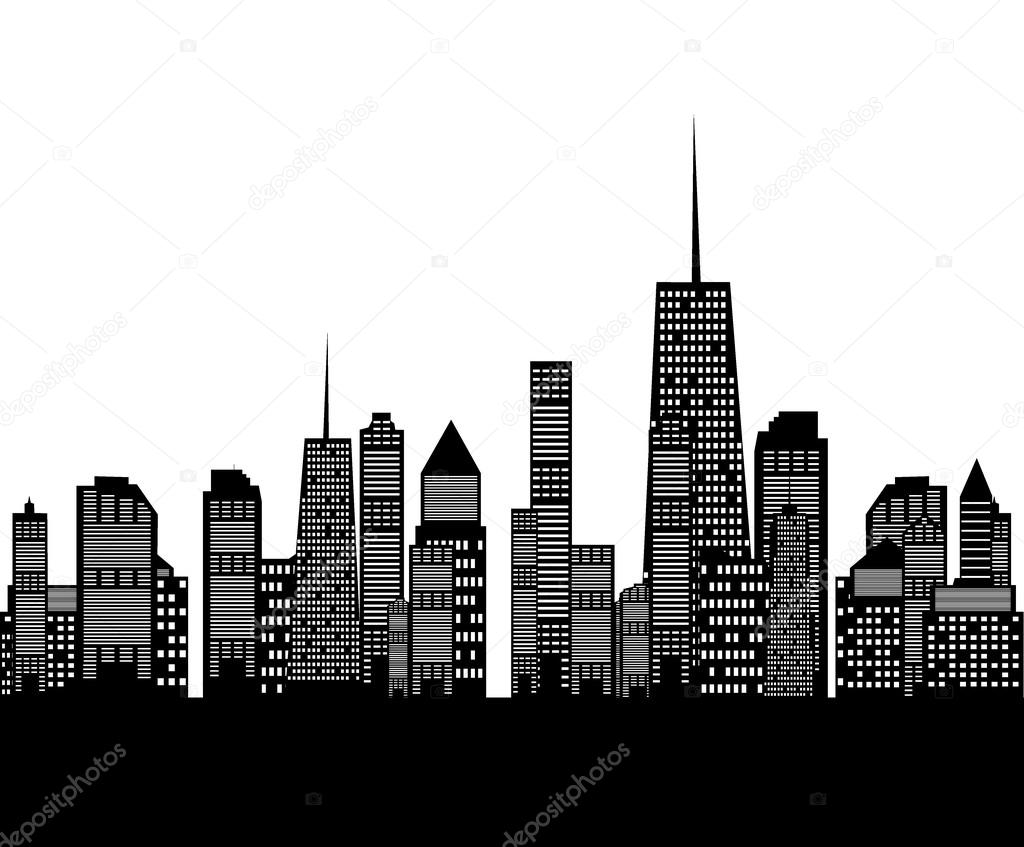 City Buildings Graphic