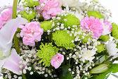 bellissimo bouquet con rosa giglio