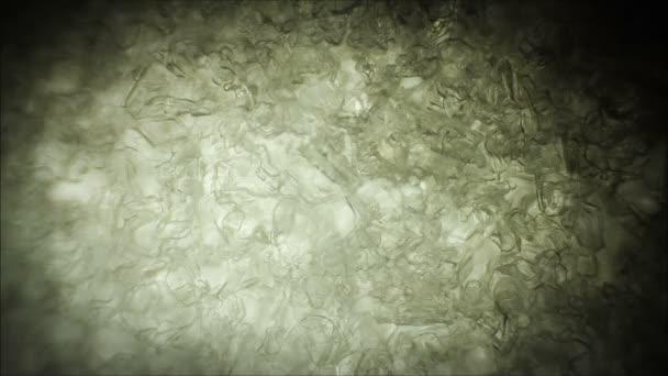 fiocco di neve che si scioglie. cristalli di ghiaccio di fusione