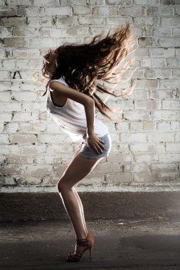 Dance Girl. Luxury Hairs