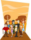 Fotografia cartone animato di