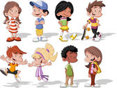 Photo cartoon kids