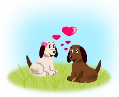 Puppies in Love