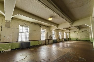 Alcatraz Dining Hall, San Francisco, California