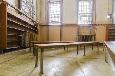 Alcatraz Library, San Francisco, California