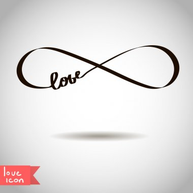 Eternal love icon