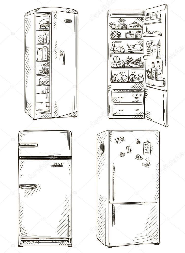 холодильник здорового питания