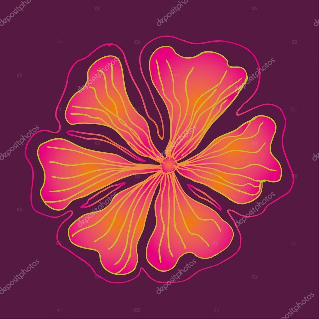 Spring hibiscus flower vector art stock vector a1vector 25367601 spring hibiscus flower vector art stock vector izmirmasajfo